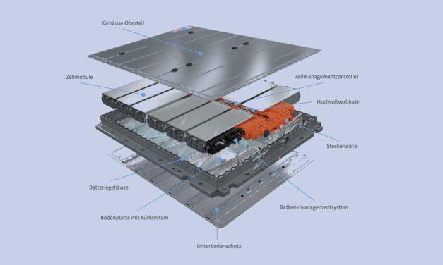 Recycling von Elektroauto- Batterien