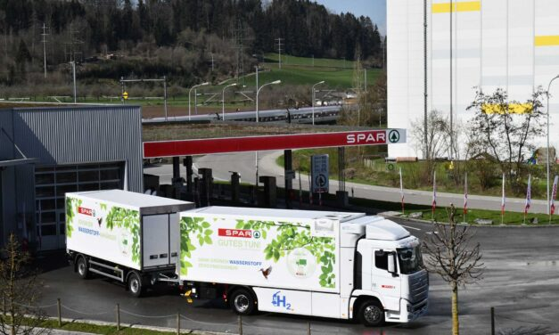 Innovation beim Transport SPAR gibt Wasserstoff