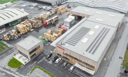 Das Schroth Paletten-Recycling und Rücknahme-System